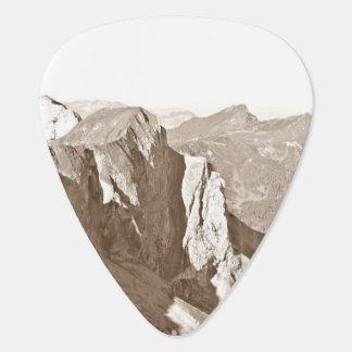 Mountain Range Guitar Pick