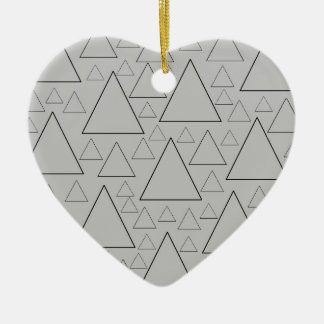 mountain ranges and day trips ceramic ornament