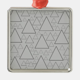mountain ranges and day trips metal ornament