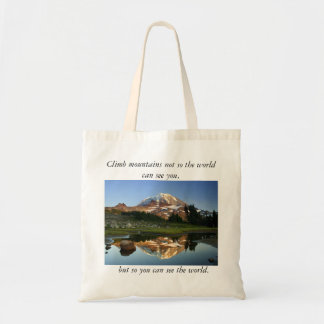 Mountain Reflection Bag