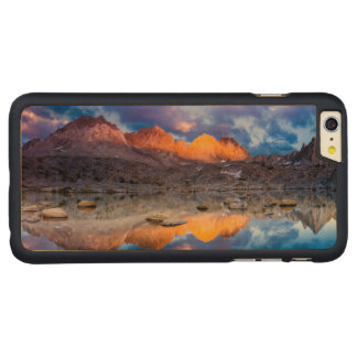 Mountain reflection, California Carved Maple iPhone 6 Plus Case
