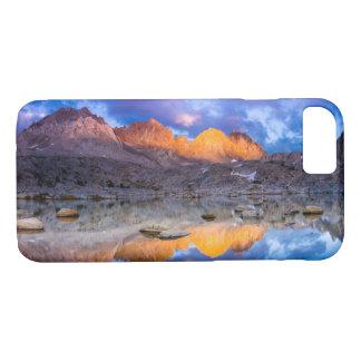 Mountain reflection, California iPhone 8/7 Case