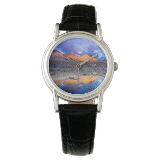 Mountain reflection, California Watch