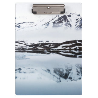 Mountain reflections, Norway Clipboard