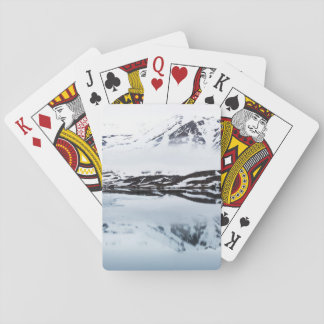 Mountain reflections, Norway Poker Deck