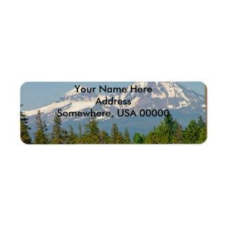 Mountain Return Address Labels