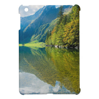 Mountain river green landscape cover for the iPad mini