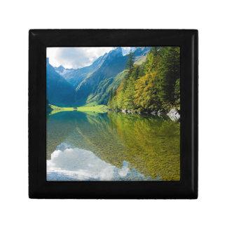 Mountain river green landscape gift box