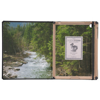 Mountain River In A Valley, Nature, Landscape Cases For iPad