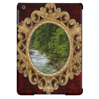 Mountain River In A Valley, Nature, Landscape iPad Air Cases
