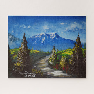 Mountain Road Jigsaw Puzzle