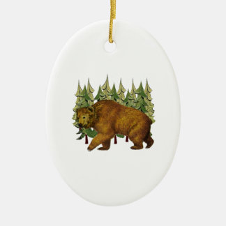 MOUNTAIN ROAM CERAMIC ORNAMENT