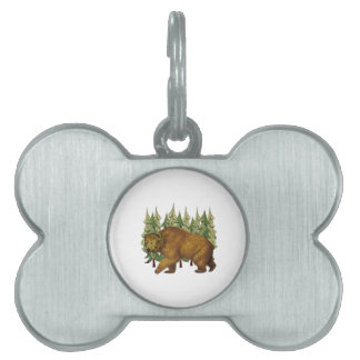 MOUNTAIN ROAM PET ID TAG