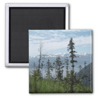 Mountain Scene Magnet