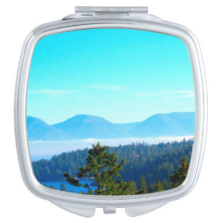 Mountain Scenery Compact Mirror