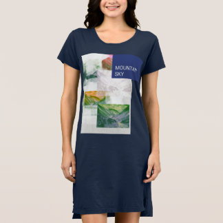 Mountain sky dress