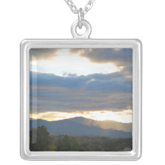 Mountain Sky Sunset Necklace