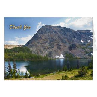 Mountain Splendor Thank You Card