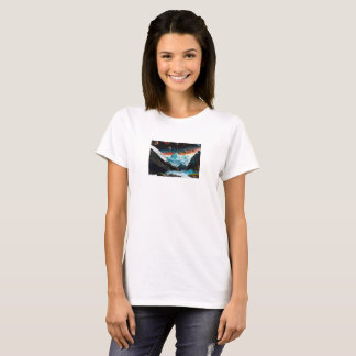 Mountain stream of polar region T-Shirt