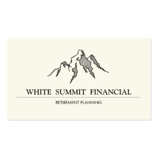 Mountain Summit Finance Professional Business Cards