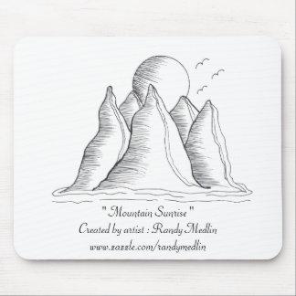 """""""Mountain Sunrise""""...Mousepad..."""