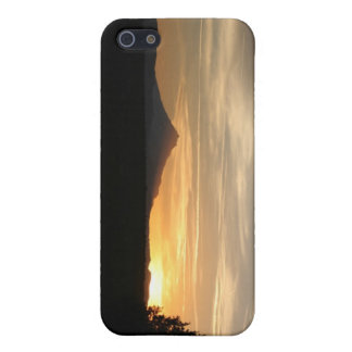 Mountain sunset iPhone 5 cover