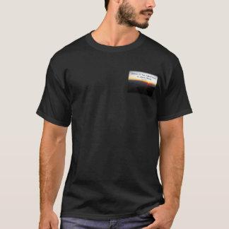 Mountain Sunset Star Shaped / John Muir quote T-Shirt