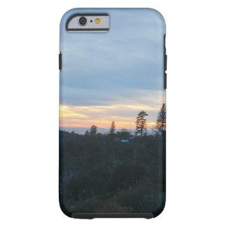 Mountain sunset tough iPhone 6 case