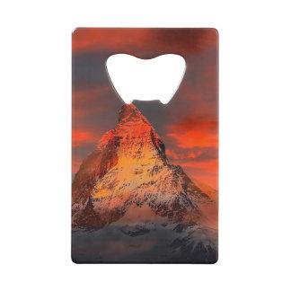 Mountain Switzerland Matterhorn Zermatt Red Sky