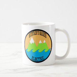 Mountain to Marine Electric Coffee Mug