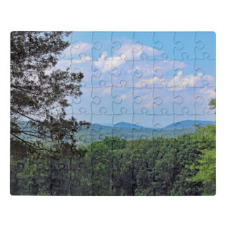Mountain Top View Jigsaw Puzzle