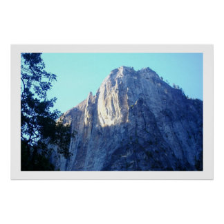 Mountain tops poster