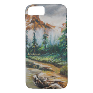Mountain Valley⛰️ Case Premium Painting iPhone 8/7