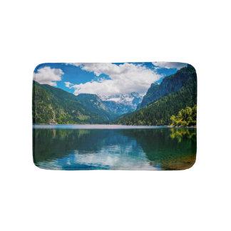 Mountain Valley Lake Bath Mats