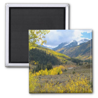 Mountain Valley Square Magnet