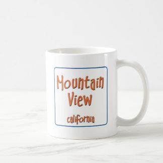 Mountain View California BlueBox Basic White Mug