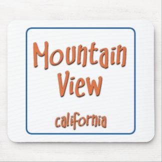 Mountain View California BlueBox Mouse Pad