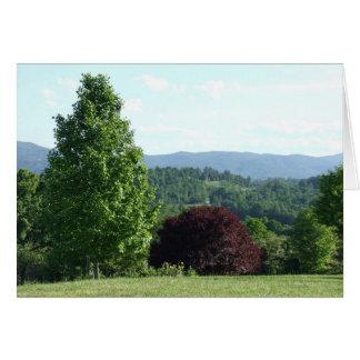 Mountain View Card