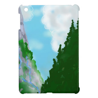 Mountain view cover for the iPad mini