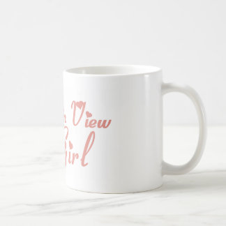 Mountain View Girl tee shirts Coffee Mugs