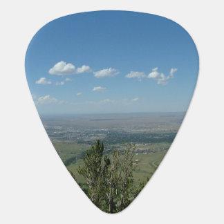 Mountain View Guitar Pick