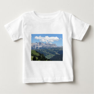 Mountain view of the italian Dolomites at summer Baby T-Shirt