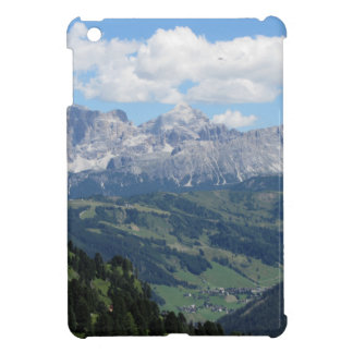 Mountain view of the italian Dolomites at summer iPad Mini Cover