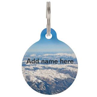 Mountain View Pet Name Tag