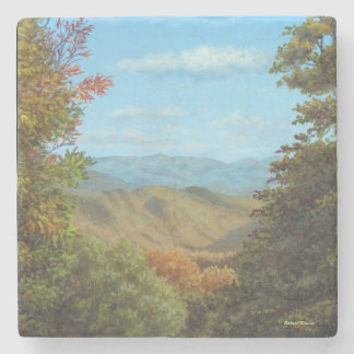 Mountain View Stone Beverage Coaster