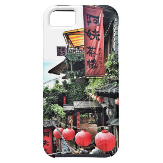 Mountain village and teahouse case for the iPhone 5