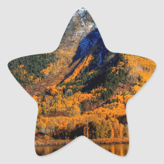 Mountain Warm Reflections Stickers