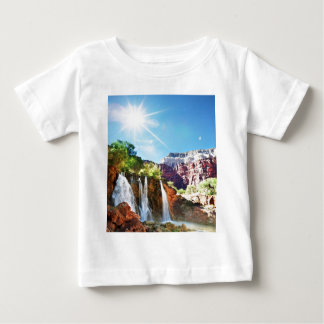 Mountain Waterfall Baby T-Shirt