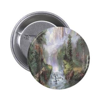 Mountain Waterfall Button