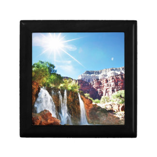 Mountain Waterfall Gift Box